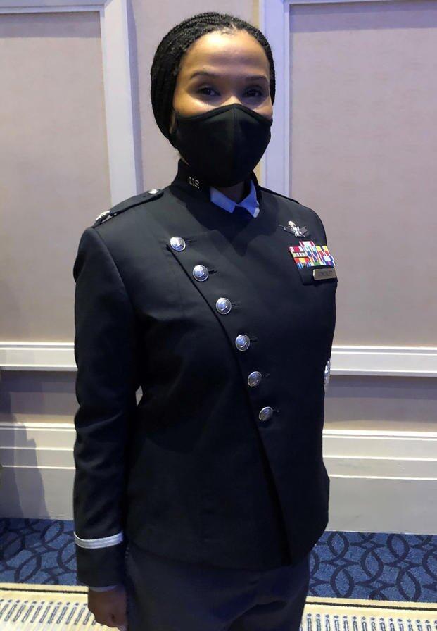 美国太空军的新款制服