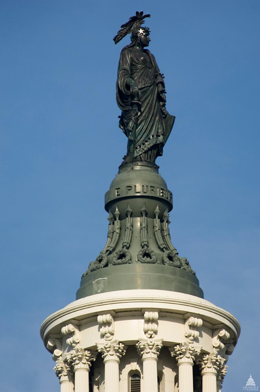 自由女神铜像