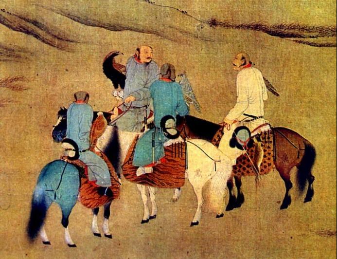 画像中的契丹贵族