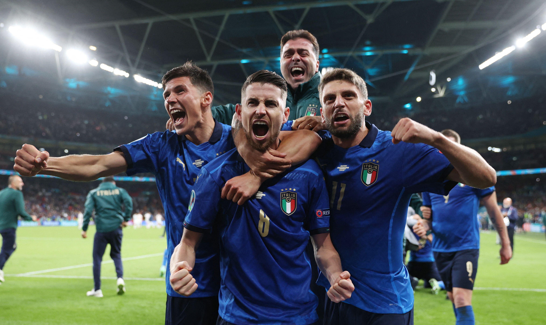 决赛,意大利来了。
