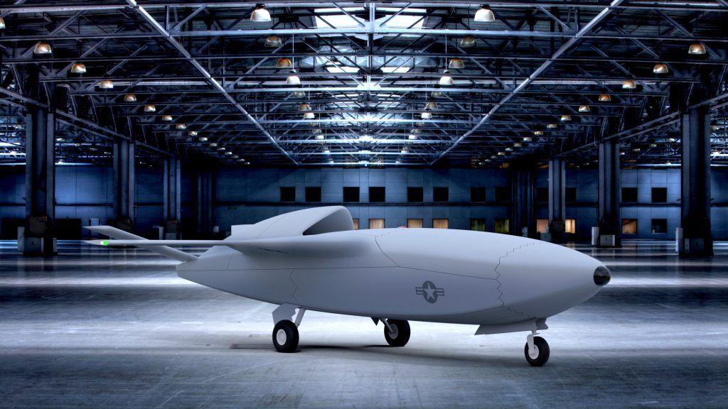 Skyborg无人战机概念图