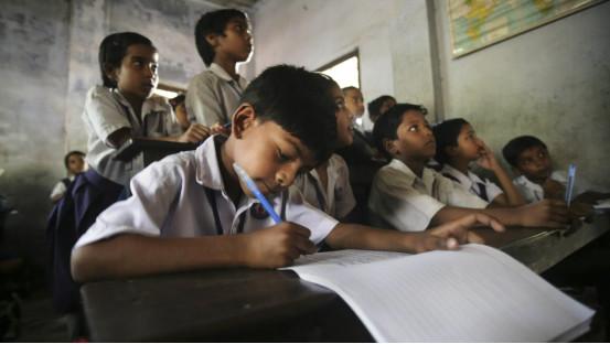 超强数学:印度学生要背19×19乘法表