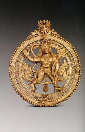 """""""古印度文明:辉煌的神庙艺术""""展品"""