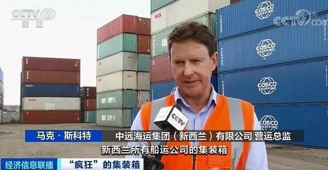 新西兰港口堆积集装箱情况严重