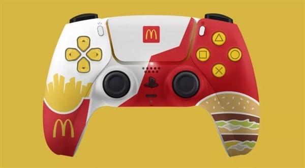 索尼PS5竟和麦当劳联合开发手柄:满满薯条味还买不到