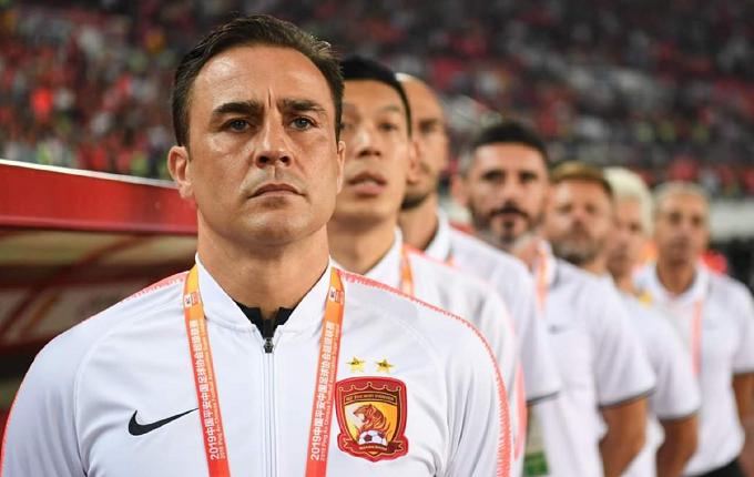 胜率仅61%!广州俱乐部正式与主教练卡纳瓦罗终止合约