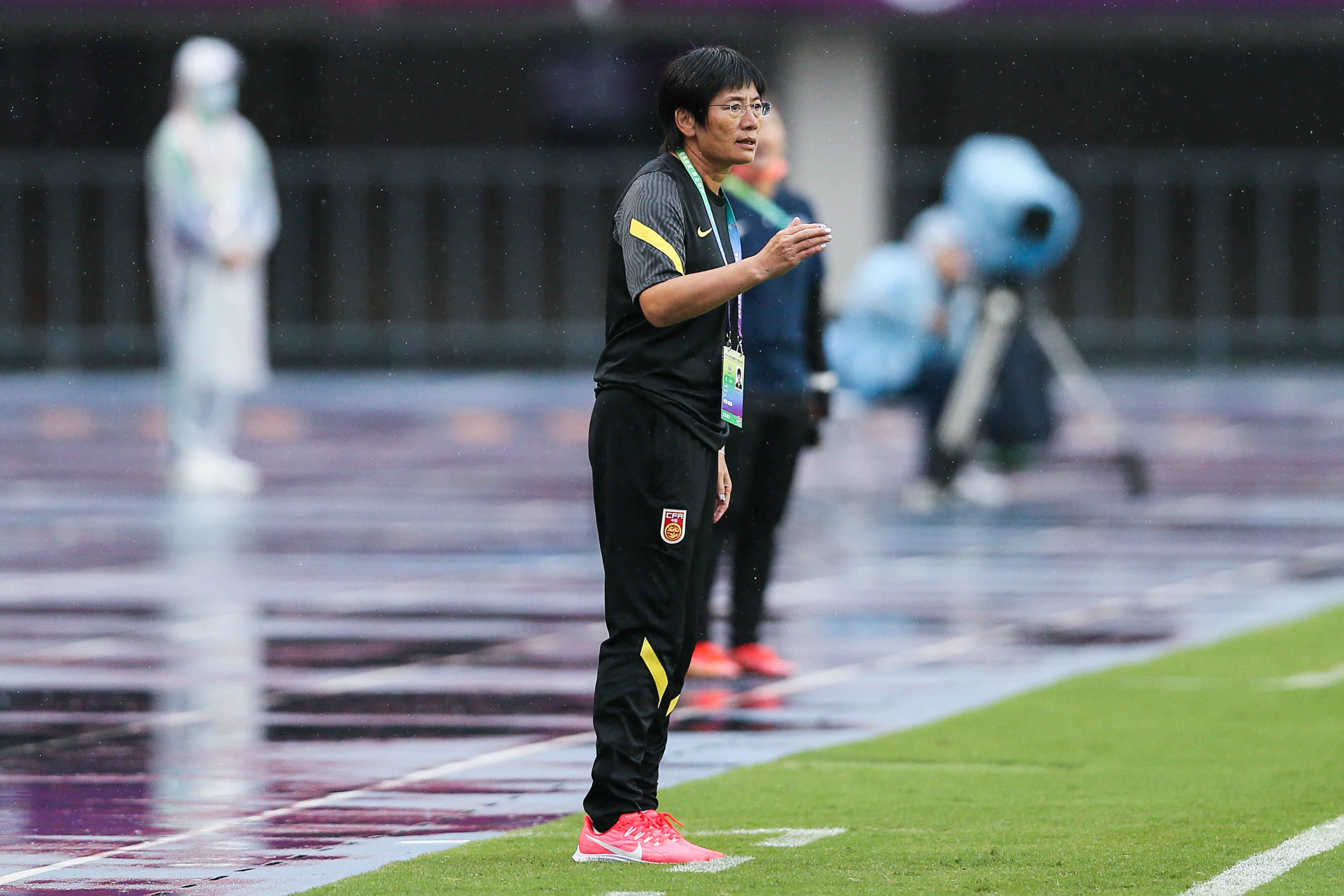 中国女足临时主帅水庆霞。