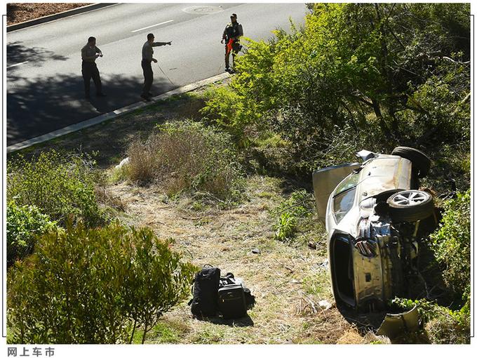 老虎伍兹遭遇严重车祸 靠这款豪华SUV捡回一命-图7