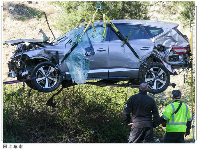 老虎伍兹遭遇严重车祸 靠这款豪华SUV捡回一命-图4