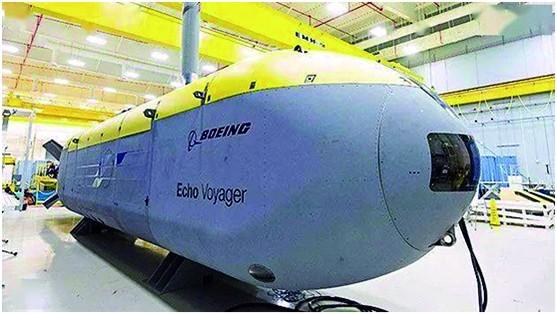 """波音公司研制的""""回声旅行者""""无人潜航器"""
