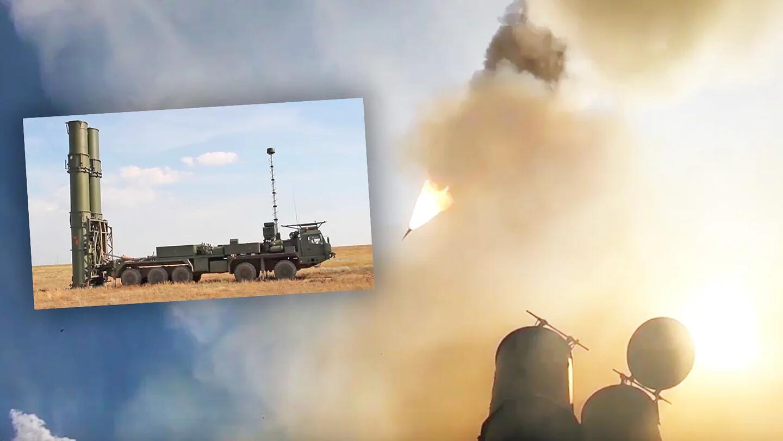 俄罗斯S-500防空反导系统试射画面