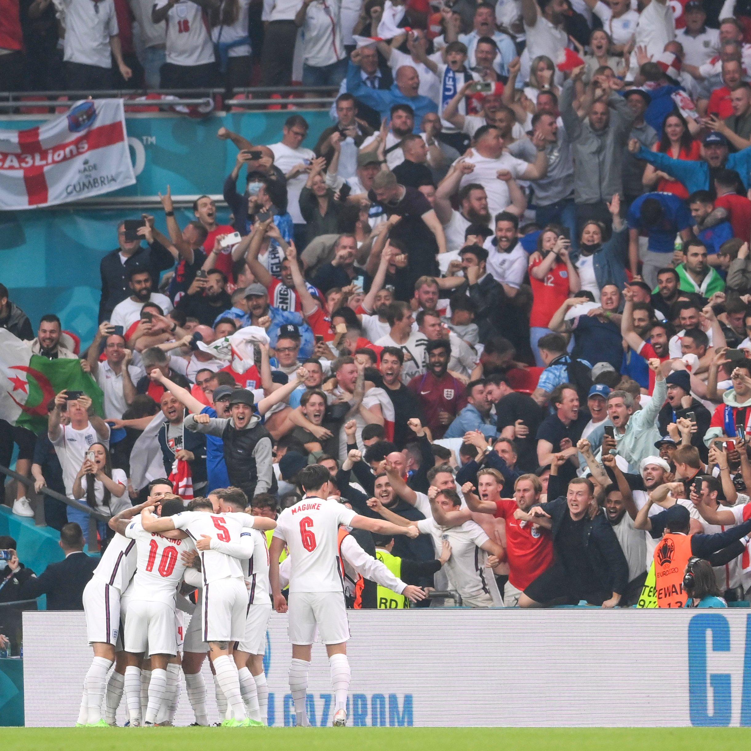 英格兰队取得梦幻开局。