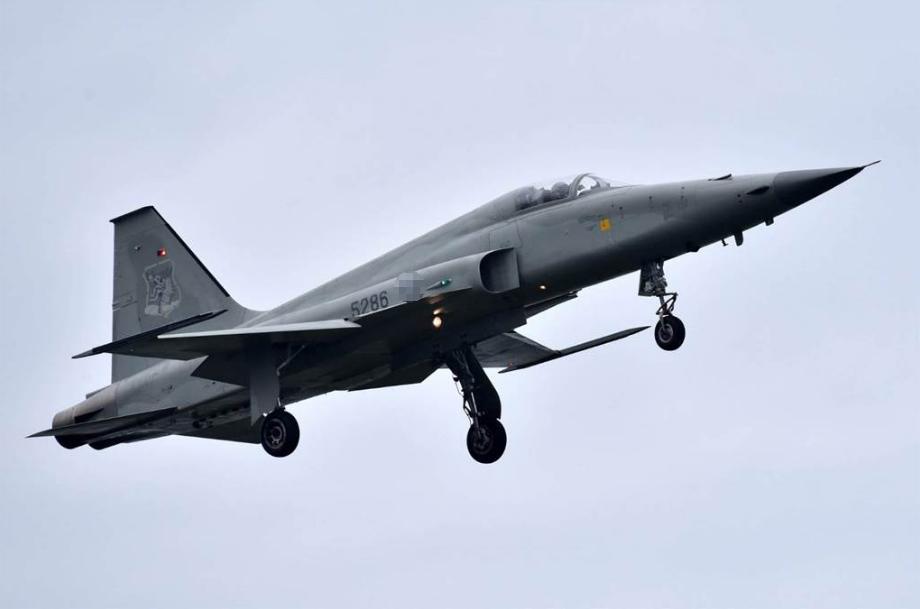 台军F-5E战斗机