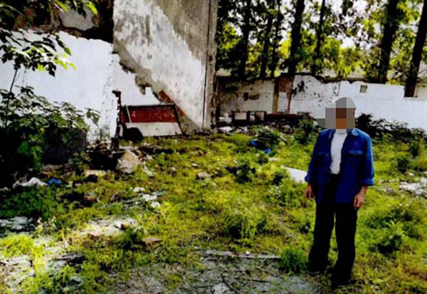 犯罪嫌疑人指认现场  本文图均为 青浦区检察院 供图