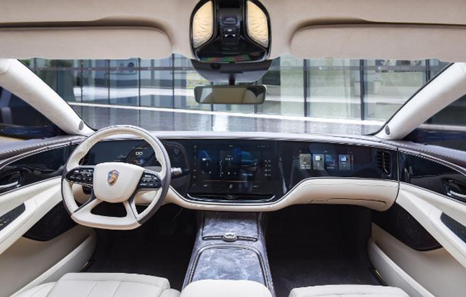 恒大旗舰轿车投产时间曝光 比Model S更大更豪华-图4
