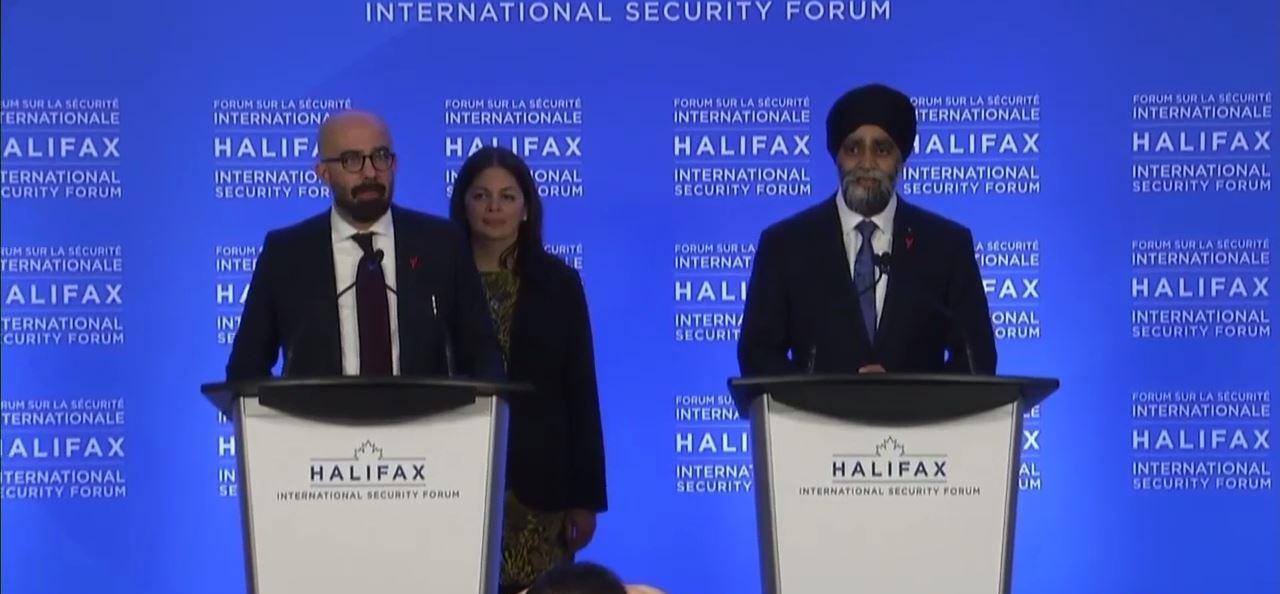 论坛给蔡英文颁奖就撤赞助?加拿大防长回应