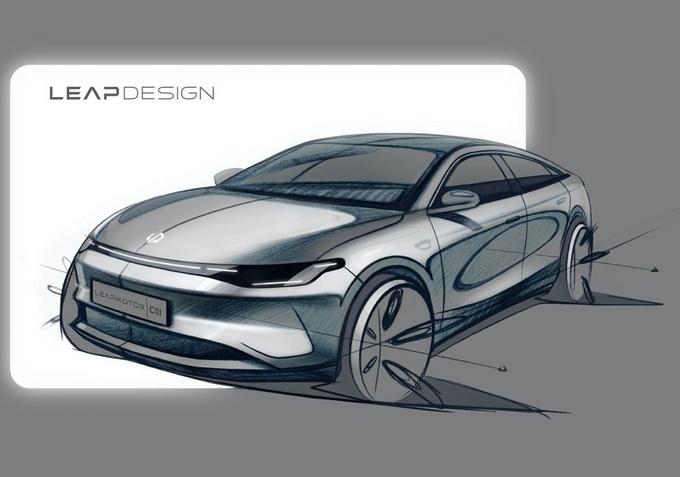 不惧科技企业造车新人零跑科技上海车展展示重磅武器-图4