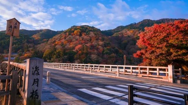 岚山边的渡月桥