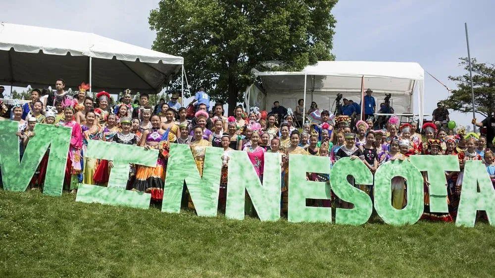 明尼苏达州有全美最大的苗裔社区 图源:MPR NEWS