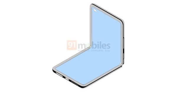 小米翻盖折叠屏手机曝光:四边等宽、挖孔前摄