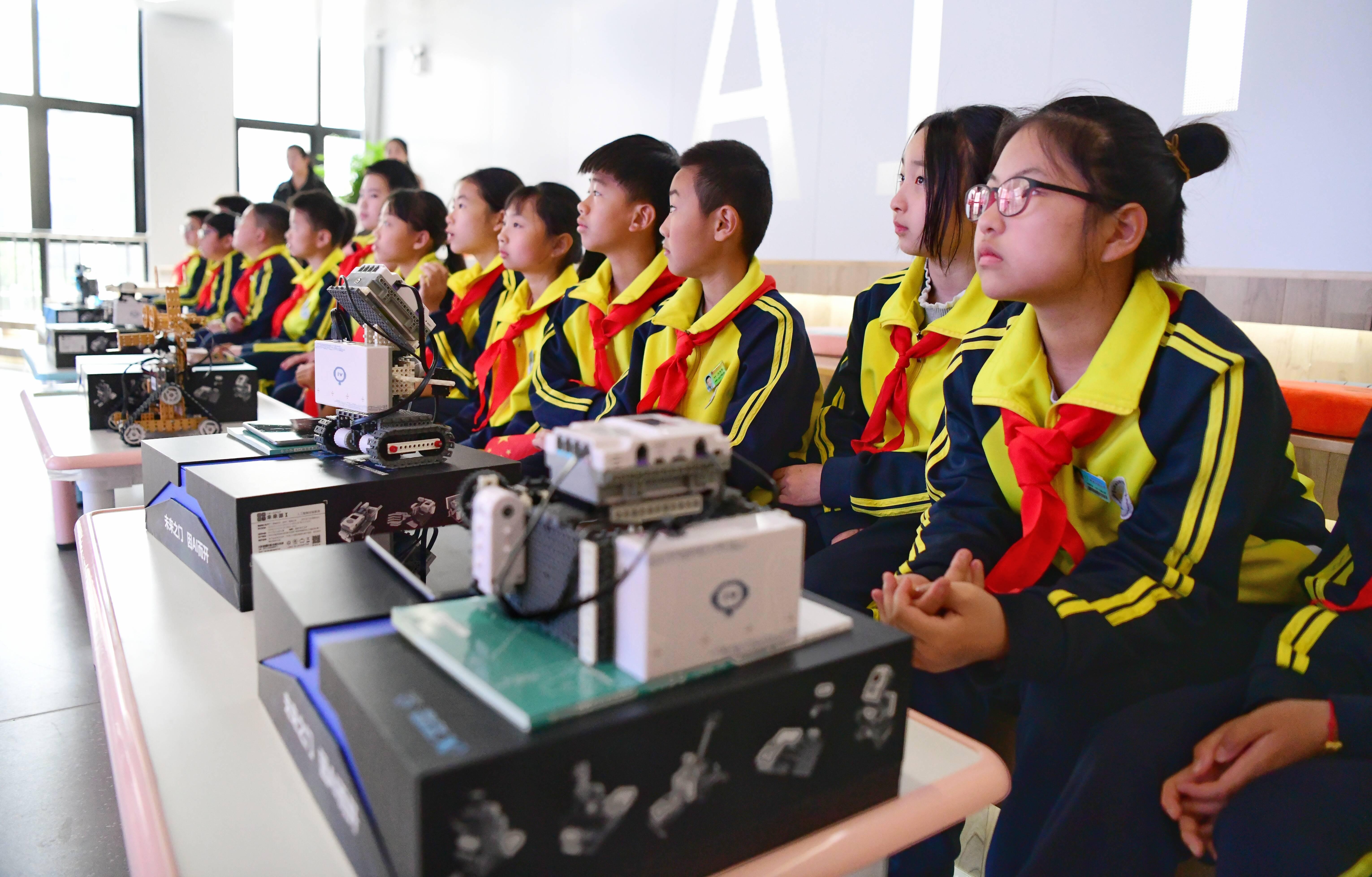 科大讯飞(青岛)人工智能科技馆开馆,首届AI科普月活动同时启动