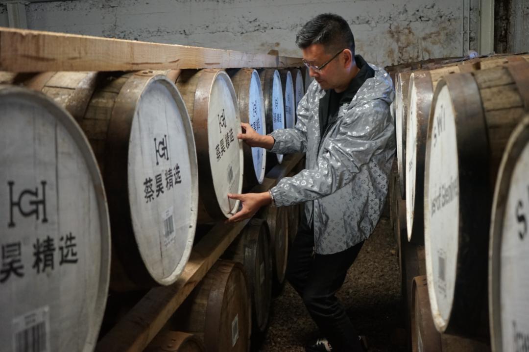 """苏格兰""""蔡昊精选""""单桶威士忌酒窖"""