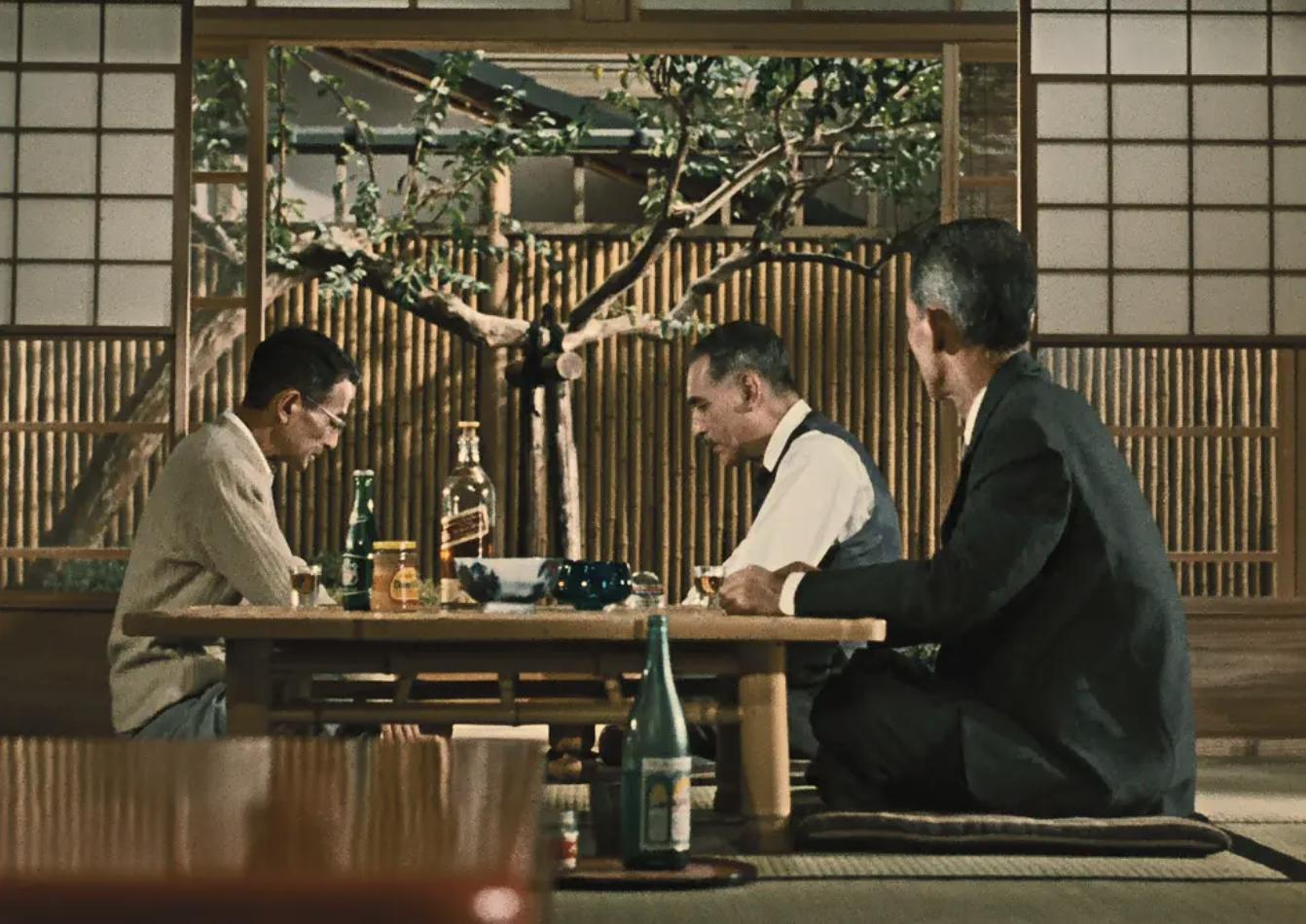 电影《秋刀鱼之味》(1962)剧照。