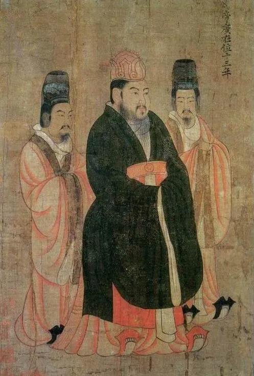 上图_ 杨广(569年-618年),即隋炀帝