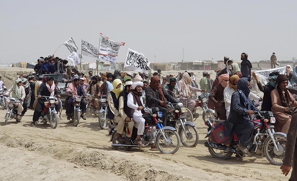 20年后,塔利班武装重新夺回阿富汗政权。