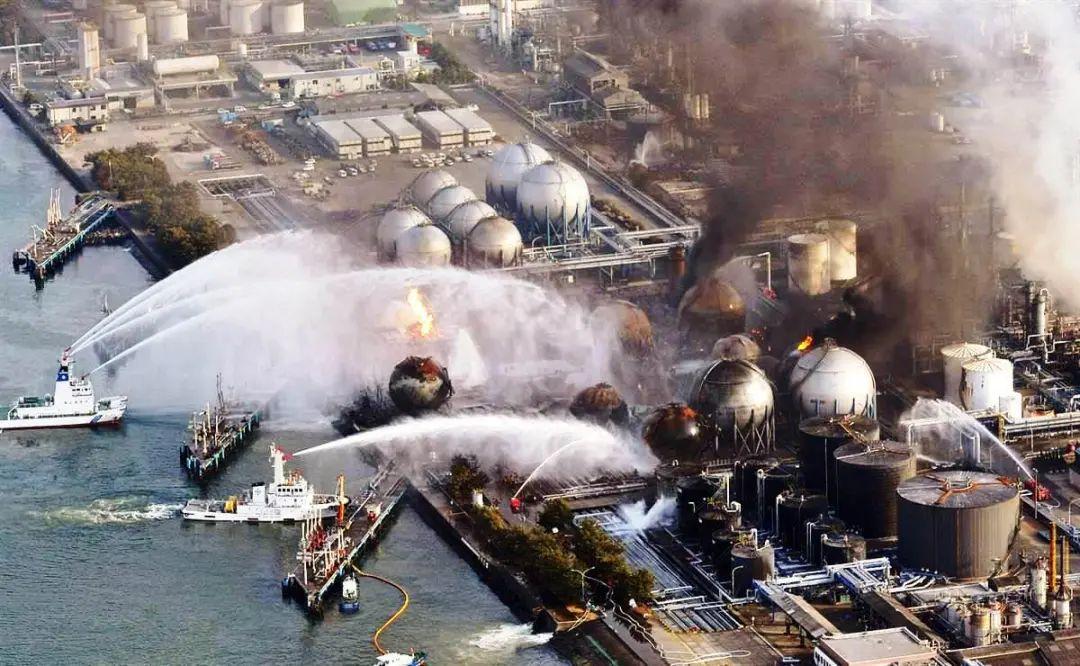▲2011年3月11日,日本大地震引发了福岛核电站核泄漏事故。图片来源:美联社