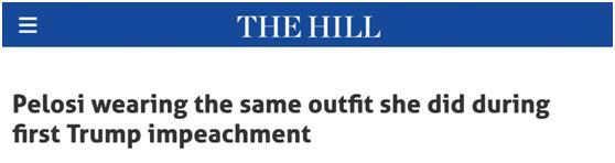 【比特币交易网站】_葬礼套装?佩洛西两次弹劾特朗普,都穿同一件衣服戴同一条项链