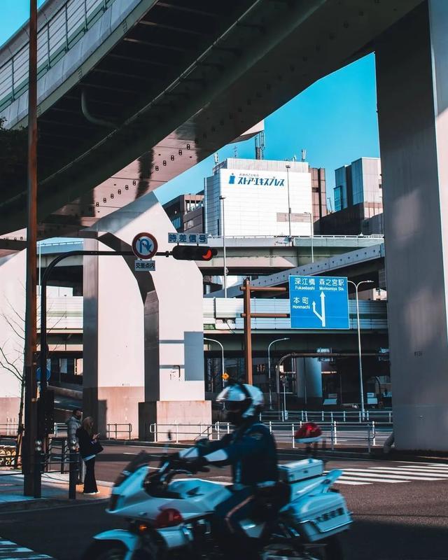 大阪街景。IG: mercijapon