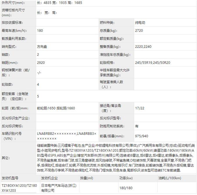广汽埃安新款AION LX实拍尺寸加长 换新LOGO-图4