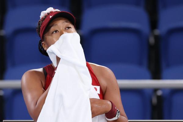 大坂直美在东京奥运会爆冷止步第三轮。 CFP 图