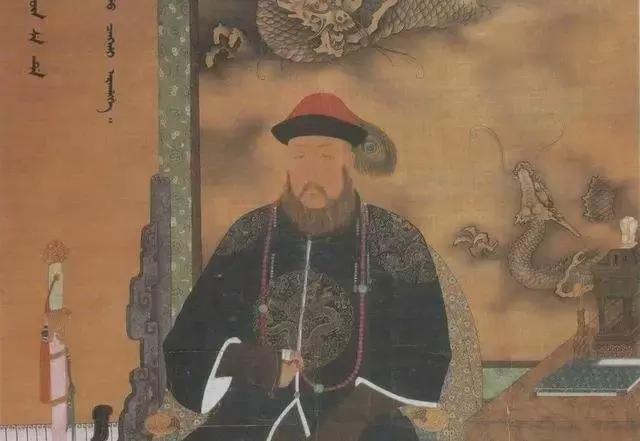 摄政王多尔衮画像