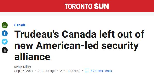 加拿大《多伦多太阳报》报道截图