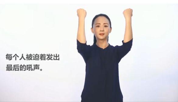 邰丽华示范手语版《国歌》