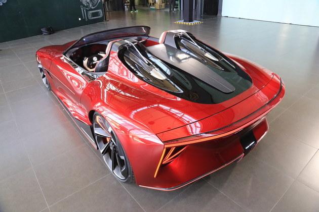 国产超跑MG Cyberster确定量产,百公里加速时间仅3秒