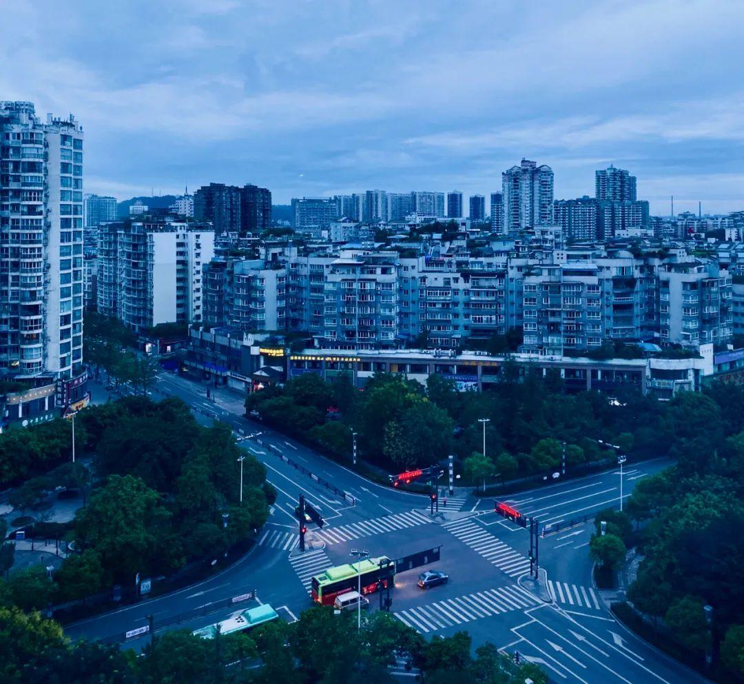 △自贡小城别有一番风情/图虫创意