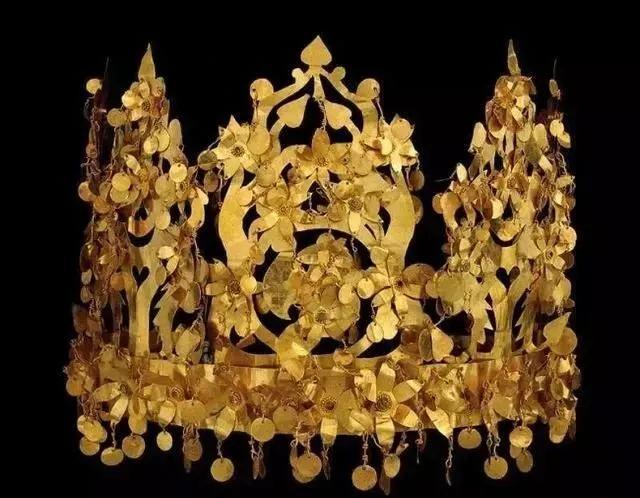 阿富汗步摇王冠(古阿富汗文明)