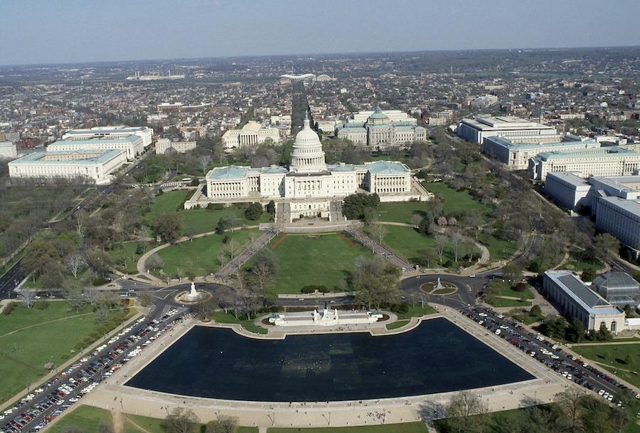 俯瞰国会山的建筑群    维基百科 图