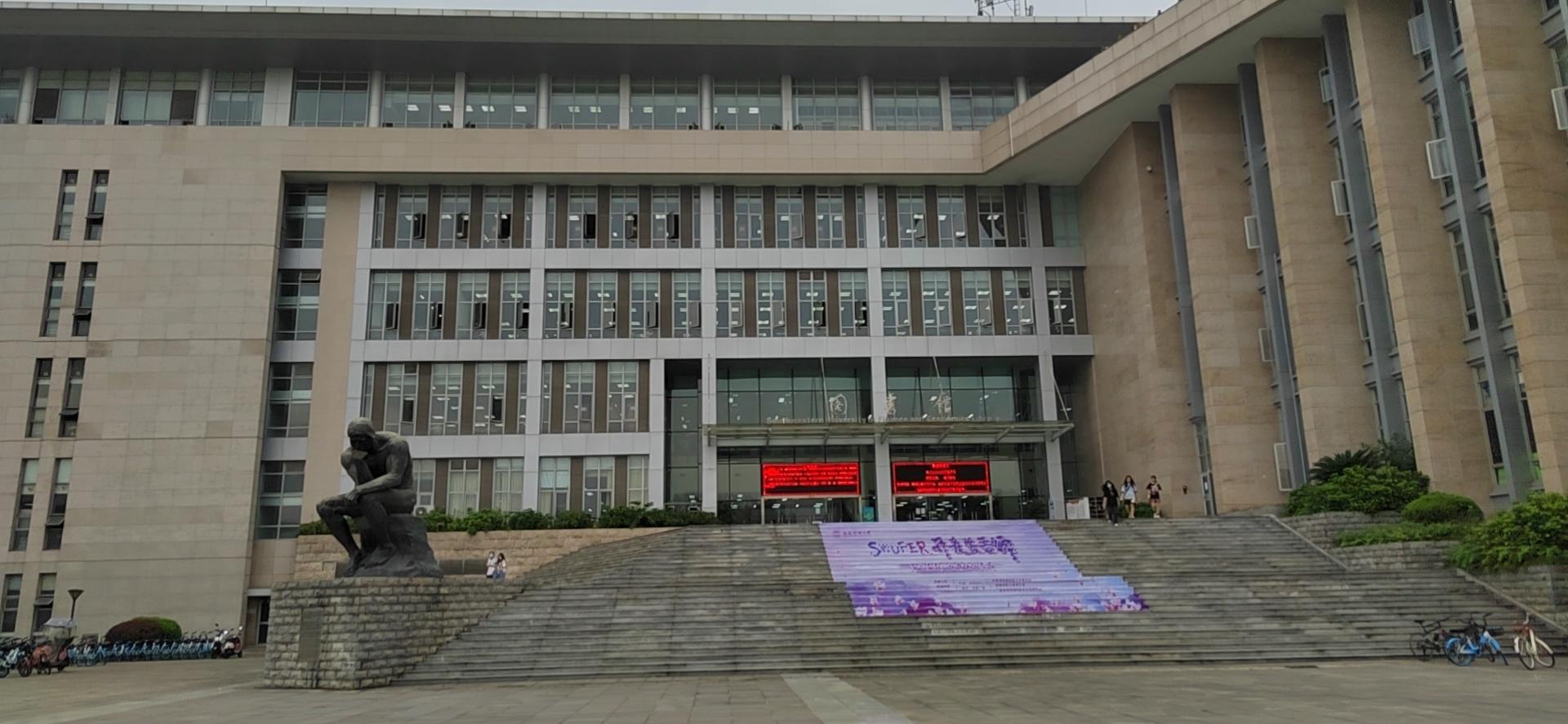 王威喜欢的校园风景  受访者供图