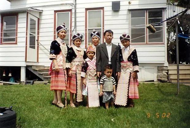 生活在明州的苗裔家庭 图源:网络