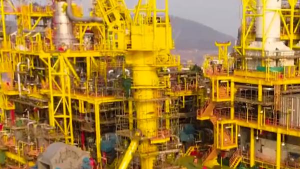 """我国自主研发""""深海一号""""能源站交付启航,全球第一"""