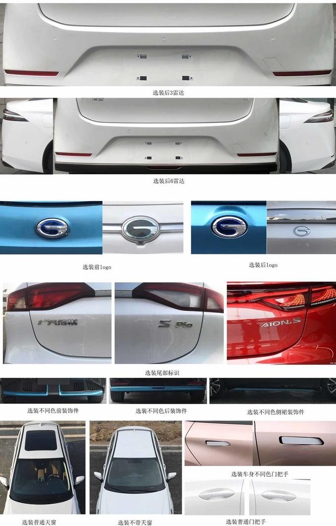 广汽埃安新款AION S实拍尺寸加长 外观更精致-图4