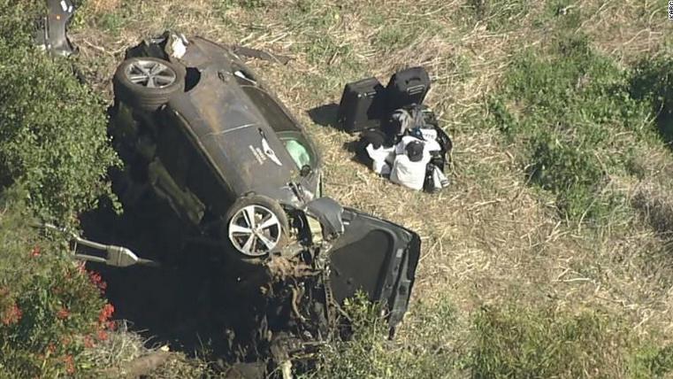 伍兹遭遇车祸