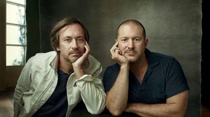 LoveFrom 的创始人 Marc Newson(图左)和 Jony Ive(图右)