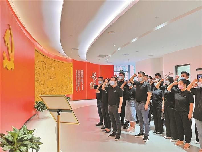 深圳科企做实党建工作 赋能人工智能生态圈