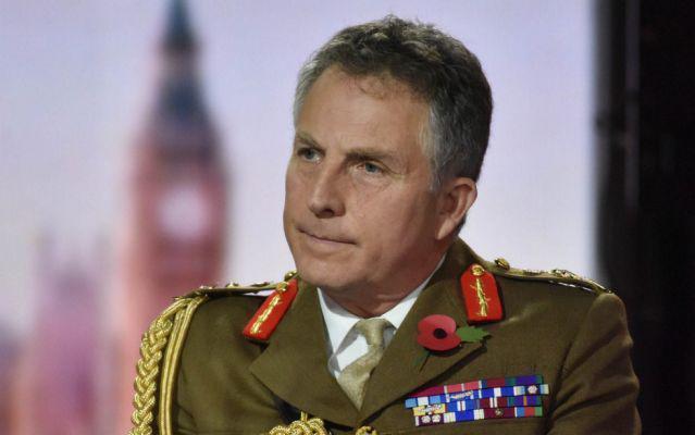 英国国防参谋长尼克·卡特。