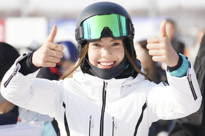 谷爱凌的目标就是北京冬奥金牌。